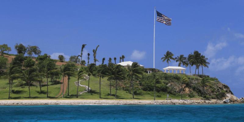 Little Saint James Island aka 'Pedophile island' owned by Jeffrey Epstein